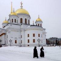 Александро-Невский Ново-Тихвинский женский монастырь. :: Пётр Сесекин