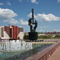 Памятник Нефтяникам. Альметьевск. Татарстан :: MILAV V