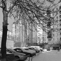 Двор жилого дома :: Валерий Михмель