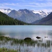 Мультинское горное озеро :: Vlad Сергиевич
