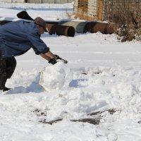 Рождение Снеговика ... :: JT --------      SHULGA  Alexei