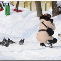 Охотник и охотница. :: Paparazzi