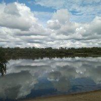 Облака в реке купаются :: Марина Таврова