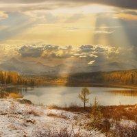 Улаганские озёра. Горный Алтай :: Павел Сухоребриков