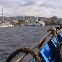 Вид на Мурманский морской вокзал :: Владимир Стаценко