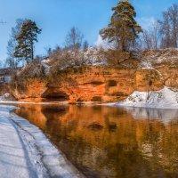 Обнажения девона на реке Оредеж :: Фёдор. Лашков