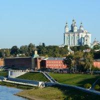 Смоленск. Вид со стороны Днепра. :: Юрий Кузьменок