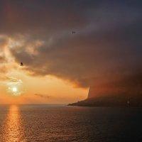 Закат в Батилимане :: Виктор Мороз