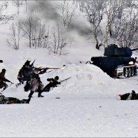 Арктика. Бой с фашистскими егерями... :: Кай-8 (Ярослав) Забелин