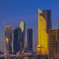 Москва-Сити утром :: Георгий А