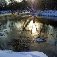 р.Сходня зимой :: Ирина Via