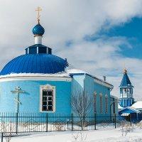 Введенский храм села Чанки :: Кирилл Иосипенко