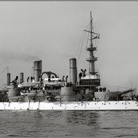 """Predreadnought battleship USS """"Massachusetts"""" in 1899. :: Александр"""