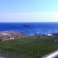 Стадион с видом на море :: Svetlana Erashchenkova