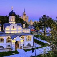 Храм зачатия праведной Анны в парке Заряднье :: Георгий А