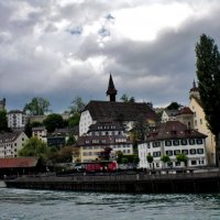 Люцерн расположился среди пасторальных пейзажей центральной Швейцарии. :: backareva.irina Бакарева
