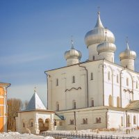 Варлаамо-Хутынский Спасо-Преображенский монастырь. :: Юлия Новикова