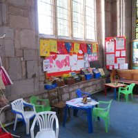 Детский уголок в церкви Святого Петра :: Natalia Harries