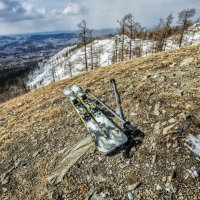 April in the mountains - the end of the ski season :: Dmitry Ozersky