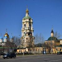 Новоспасский монастырь :: Владимир Денисов