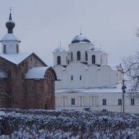 Церкви Великого Новгорода. :: Татьяна Гусева