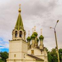 Нижний Новгород,храм Успенья Божьей Матери на Ильинской горе :: Сергей Цветков