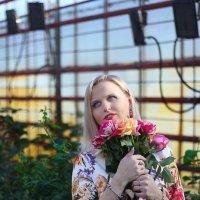 цветочница :: Алёна Горбылёва