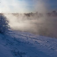 Туманная река :: Анатолий Иргл