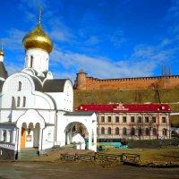 Казанская церковь :: Наталья Сазонова
