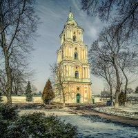 Колокольня Троице - Ильинского монастыря :: Александр Бойко