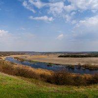 Весенняя панорама на косогоре. :: Владимир M