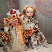 Советский клоун и кукла маша. :: Ирина Кузина