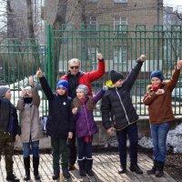 6 апреля 2018 г. на спортивной площадке  состоялся Районный этап соревнований по городошному спорту :: СДЦ Алексеевский