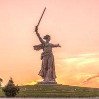 Волгоград. Июльский закат. :: Василий Губский
