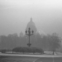 Исакий в тумане :: Серго