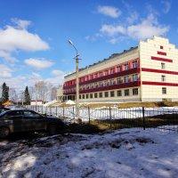 Эксплуатационное локомотивное депо ст. Сольвычегодск  Северной железной дороги. :: Андрей Дурапов