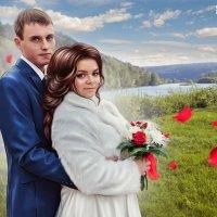 Свадебный портрет для печати на холсте :: Дарья Суркина