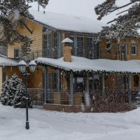 Снегопад, снегопад :: Владимир Субботин