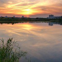 вечер над заливом :: Александр Прокудин