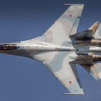 SU-35S Flanker Elegance :: Дмитрий Бубер