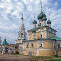 Церковь Рождества Иоанна Предтечи на Волге :: Галина Каюмова