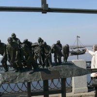 Бурлаки на Волге :: Александр Алексеев