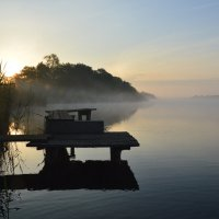 Рано утром на рыбалке. :: Виктор