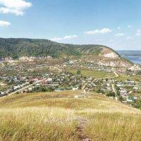 Вид на село Ширяево с Монастырской горы :: Наталья Ильина