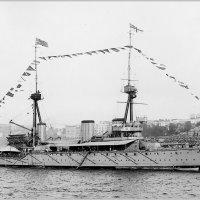 """Battlecruiser HMS """"Inflexible"""" in New York, 1909. :: Александр"""
