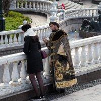 как царь к девушке приставал :: Олег Лукьянов