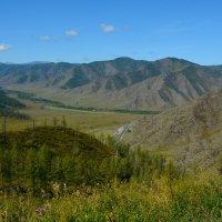 Вид с перевала Чике-Таман. :: Валерий Медведев