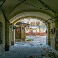 Одесский дворик. :: Вахтанг Хантадзе