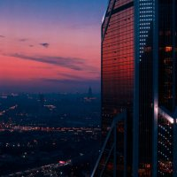 Москва Сити - Меркурий :: Игорь Горшков