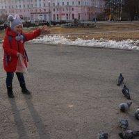 Ну как их не покормить)))) :: Валентина
